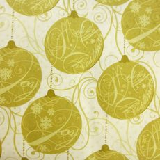 SPARKLE Ornaments Gold
