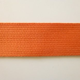 Baumwoll Gurtband Orange 30mm