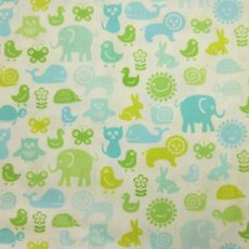 OWLS & PALS Animal Pals Light Green Schmusi Rückseite